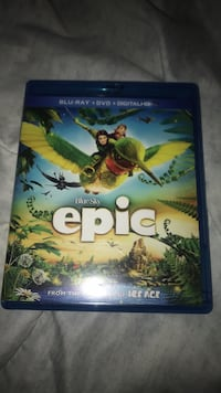 Epic Blu-Ray DvD