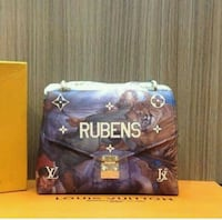 brown and purple Rubens handbag Brampton, L6Y 4S5