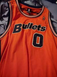 red and black Chicago Bulls 23 jersey Alexandria, 22306