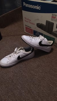 pair of white-and-black Nike sneakers Mechanicsville, 23111