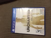 Uncharted 4 PS4 game case Edmonton, T6L 3J3