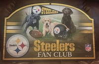 Steelers Puppy Fan Club Sign - 17x11 Pasadena, 21122