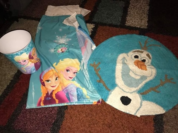 Used Disney Frozen Bathroom Decor For Sale In Independence