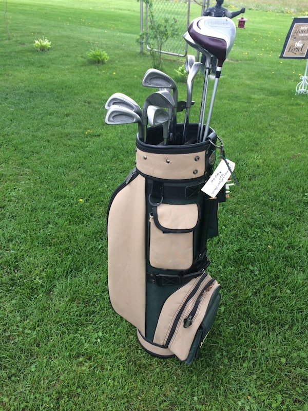Men's right handed Golf club set with bag-new price