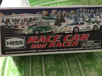 Hess race car and racer 2009 REDUCED