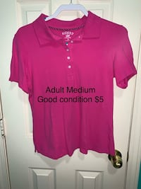 Ladies M pink shirt Flowood, 39232