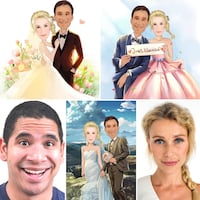 Wedding Caricatures Port Moody