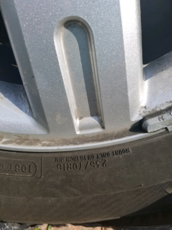 235 70 R16 ALLOY TIRES FOR SALE FITS FORD AND OTHER VEHICLE eaf28c99-9c2d-4cb9-86c4-7e31e1f7c7e7