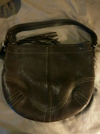 Coach pebbled leather handbag Baltimore, 21229