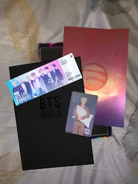 BTS WORLD OST Album Toronto, M1H 3B7