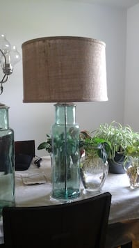 Lamp Works 216 recycled glass table lamp