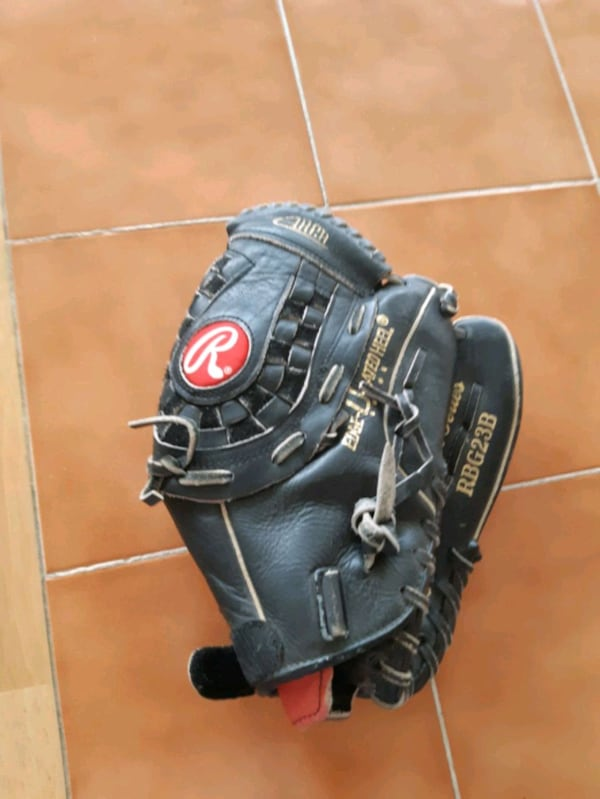 Rawlings (left hand) leather glove 0