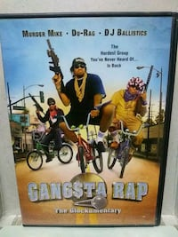 Gangsta Rap the Glockumentary dvd