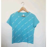 Adidas blue cropped top Size L Central Bedfordshire, SG17 5AT