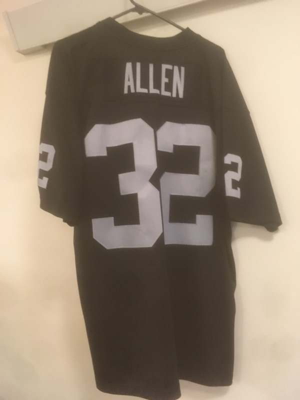 0e7dff5af27d72 Used black and white NFL jersey for sale in Seattle - letgo