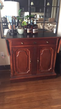 brown wooden cabinet with drawer Houston, 77098
