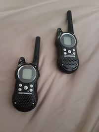 black Motorola two way radio British Columbia, V2V 6R7