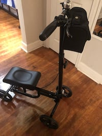black and gray knee scooter NO BRENTWOOD, 20722
