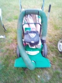 Billy goat ,power rake with bag and powerful suction very clean