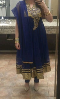 Blue Indian dress, with scarf and pant Guelph, N1K 1V9