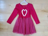 Girls 4/5 Red Dress with heart  Hopkinton, 01748