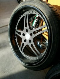 5x112 Iforged classic split 5 wheels 9.5 and 10.5  North Las Vegas, 89031