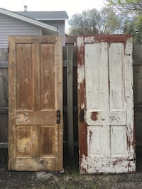 Antique doors 15 each would make a great rustic craft!