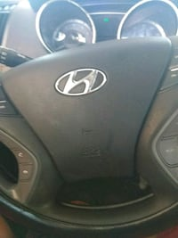 black Hyundai multi-function steering wheel Washington, D.C.