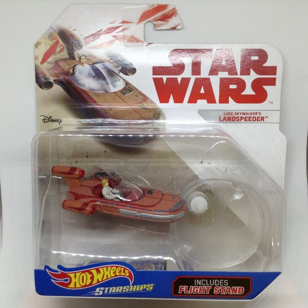 Hot Wheels Star Wars Star Ships Luke Skywalker's Landspeeder