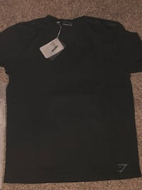 Gymshark Black T-shirt XL