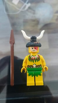 man in green skirt and brown spear minifig Winnipeg, R2H 2Z8