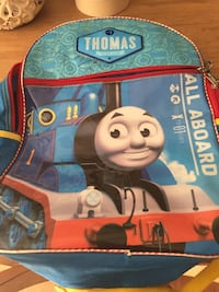 blue Thomas the Train backpack