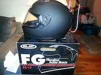 black fg fiber glass kevlar matrix full face helmet Cheverly, 20785