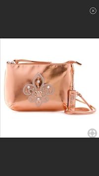 Authentic Miss Me Rose Gold Crossbody! Free coin purse Charles Town, 25414
