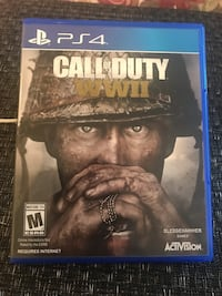 Call of Duty WWII PS4 Orange, 92869