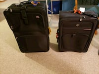 2 suitcases, used but lots of life left. Edmonton, T6K 1Z3
