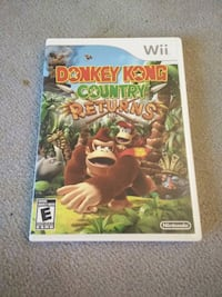Donkey Kong Country Retutns Wii Game Fairfield, 06825