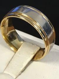 Platinum and gold wedding band  Riverview, 48193