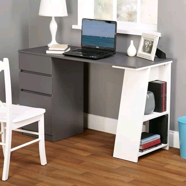 Superb Used Wayfair Computer Desk New In Box For Sale In Darien Complete Home Design Collection Papxelindsey Bellcom