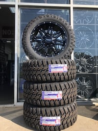 Brand new wheels and tires!