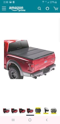 F150 Rugged cover 2 tri fold hard cover
