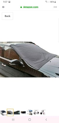Magnetic Automobiles Windshield Ice Cover