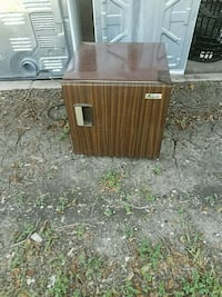 brown wooden single-door cabinet San Antonio, 78216