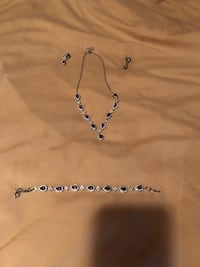 Purple Jewelry. Matching Necklace, Earrings, and bracelet! Lakeville, 55044