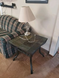 2 stone top end tables Omaha, 68134
