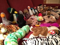 Lot of 38 mint condition TY Beanie Babies 22 mi