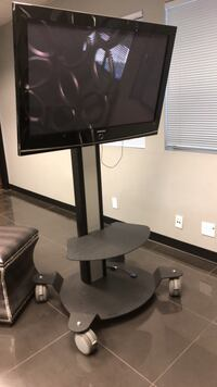 Large Plasma Samsung TV on rolling stand. Los Angeles, 91364