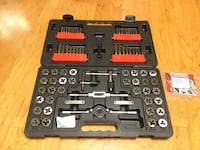 Tap and Die set 75 pcs 45 km