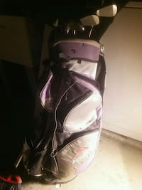 white and purple golf bag Mogadore, 44260