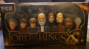 Lord of the rings pez set